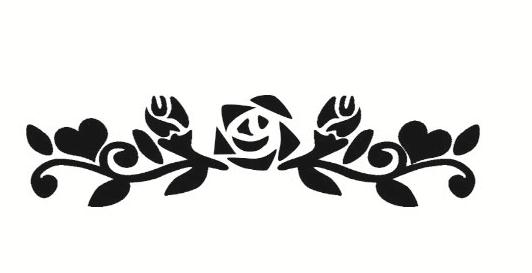 Nep tattoo voorbeeld Bloemen 2. Bloemen 2
