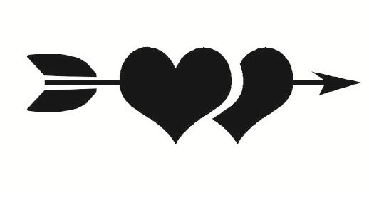 Liefde / Valentijn  Faketattoonl