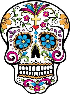 Day of the Dead Skull 7