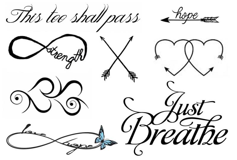 Voorbeelden Tattoos Pols Nep Tattoo Voorbeeld Pols