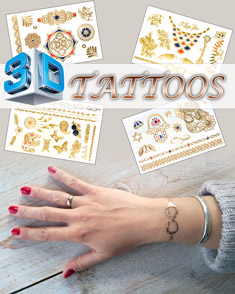 3d flash tattoos