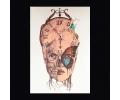 XL Tattoos Kleur tattoo voorbeeld Vrouw 036