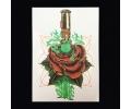 XL Tattoos bloemen kleur tattoo voorbeeld Bloemen 038