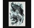 XL Tattoos Zwartwit tattoo voorbeeld Dieren 043