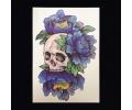 XL Tattoos Kleur tattoo voorbeeld Boosaardig 050