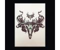 XL Tattoos Zwartwit tattoo voorbeeld Boosaardig 052