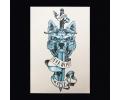 XL Tattoos Kleur tattoo voorbeeld Boosaardig 057