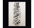 XL Tattoos teksten zwart/wit tattoo voorbeeld Teksten 064