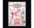 XL Tattoos Kleur tattoo voorbeeld Bloemen 085 Waterverf Bloemen