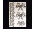 XL Tattoos symbolen zwart/wit tattoo voorbeeld Symbolen 099 Lace en Strikken