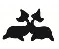 Overige dieren tattoo voorbeeld Dolfijnen
