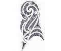 Maori tattoo voorbeeld Tribal Maori 2