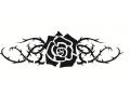 Bloemen tattoo voorbeeld Roos tribal 2