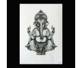 XL Tattoos Zwartwit tattoo voorbeeld Symbolen 247