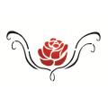 Bloemen tattoo voorbeeld Roos tribal