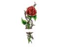 Bloemen tattoo voorbeeld Roos