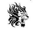Roofdieren tattoo voorbeeld Leeuw 5-27