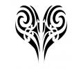 Maori tattoo voorbeeld Hart 5-58
