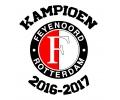 Voetbal tattoo voorbeeld Feyenoord Kampioen 2016-2016 (1)