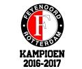 Voetbal tattoo voorbeeld Feyenoord Kampioen 2016-2016 (2)