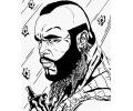 Hollywood tattoo voorbeeld BA Baracus
