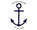 Spreuken / Poëzie tattoo voorbeeld Captain