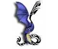 Dieren tattoo voorbeeld Draak
