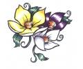 Bloemen tattoo voorbeeld Bloemen 5