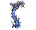 Draken tattoo voorbeeld Blue Dragon 1