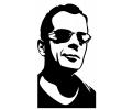 Hollywood tattoo voorbeeld Bruce Willis 1