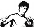 Hollywood tattoo voorbeeld Bruce Lee 2