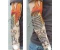 tattoo voorbeeld Tattoo sleeve 15 Rock n Roll