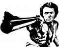 Hollywood tattoo voorbeeld Clint Eastwood 1
