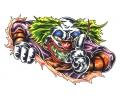 Evil Clowns tattoo voorbeeld Clown 10