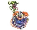 Evil Clowns tattoo voorbeeld Clown 11