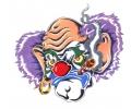 Evil Clowns tattoo voorbeeld Clown 12