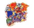 Evil Clowns tattoo voorbeeld Clown 1