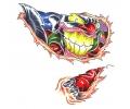 Evil Clowns tattoo voorbeeld Clown 6
