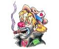 Evil Clowns tattoo voorbeeld Clown 8