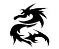 Draken tattoo voorbeeld Draak 27