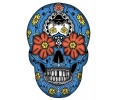 Day of the Dead Skulls tattoo voorbeeld Day of the Dead Skull 14