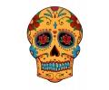 Day of the Dead Skulls tattoo voorbeeld Day of the Dead Skull 15