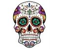 Day of the Dead Skulls tattoo voorbeeld Day of the Dead Skull 18