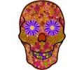 Day of the Dead Skulls tattoo voorbeeld Day of the Dead Skull 2