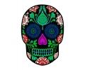 Day of the Dead Skulls tattoo voorbeeld Day of the Dead Skull 20