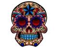 Day of the Dead Skulls tattoo voorbeeld Day of the Dead Skull 21