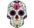 Day of the Dead Skulls tattoo voorbeeld Day of the Dead Skull 22