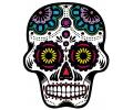 Day of the Dead Skulls tattoo voorbeeld Day of the Dead Skull 23