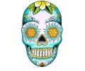 Day of the Dead Skulls tattoo voorbeeld Day of the Dead Skull 27