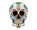 Day of the Dead Skulls tattoo voorbeeld Day of the Dead Skull 28